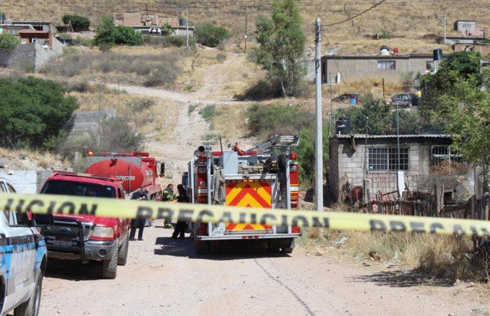 Se incendia casa en el Cerro de la Cruz