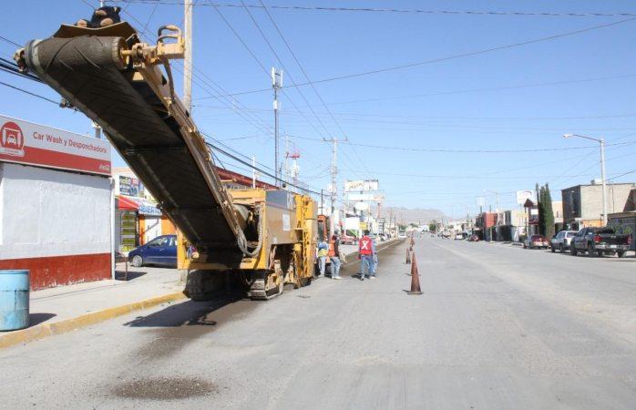Comienza municipio repavimentación de la avenida granjero