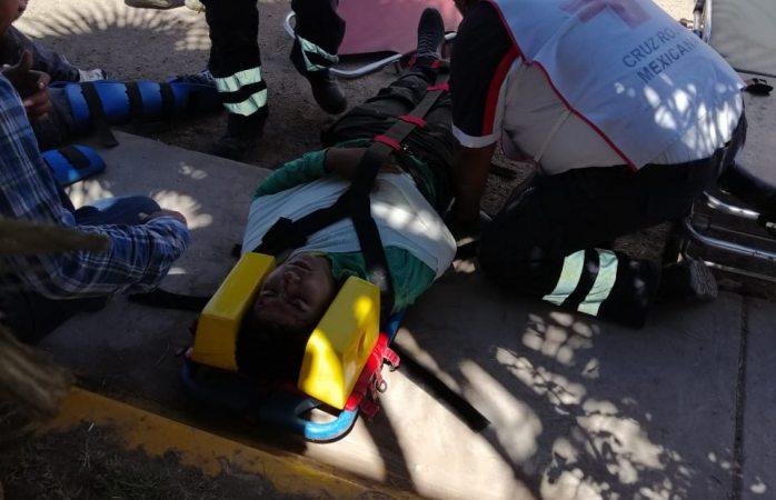 Motociclista grave tras choque en la cordillera