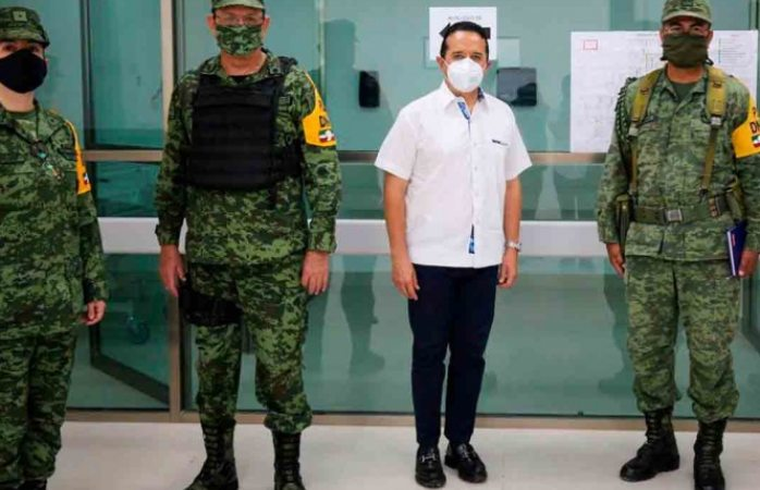 Sedena recupera instalaciones para hospital covid en tulum