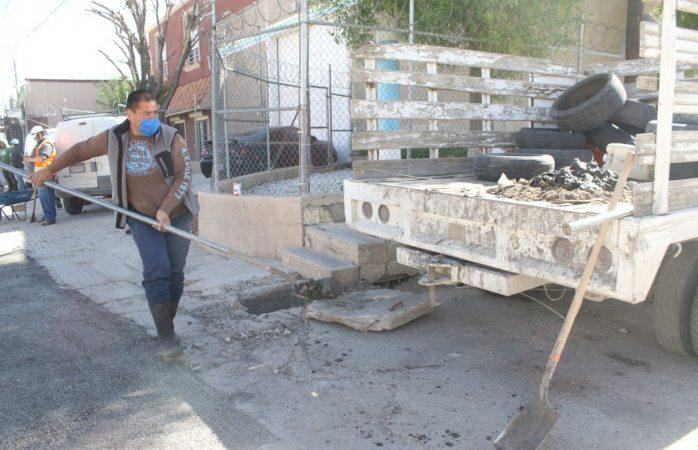Retira municipio más de 45 toneladas de basura de red de pluviales durante el año