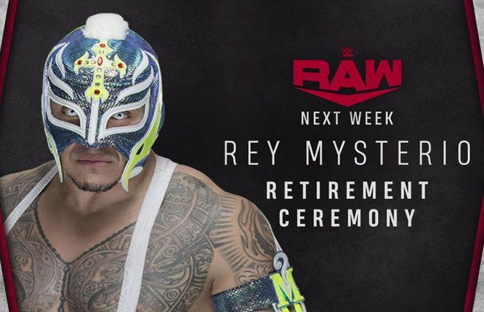 WWE anuncia ceremonia de retiro para Rey Mysterio