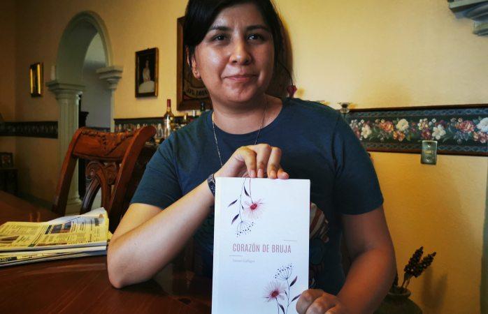 Escritora deliciense publica novela con editorial independiente