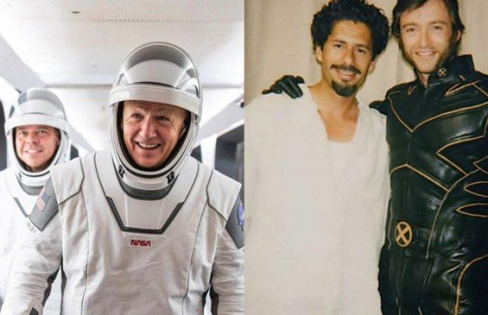 Mexicano diseñó trajes para astronautas del crew dragon