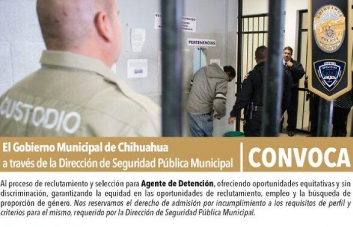 Abren convocatoria para custodios de barandilla