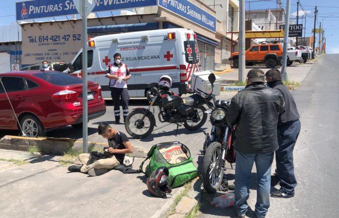 Resultan lesionados tras chocar vs pick-up en la josé maría iglesias