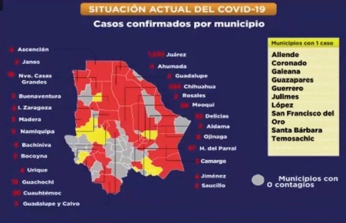 Confirman 524 casos de covid en la ciudad