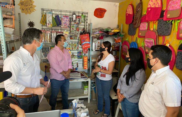 Inicia entrega de apoyos en delicias