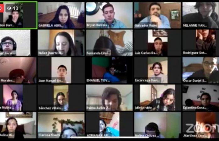 Imparten plática a jóvenes del cbtis 228 sobre salud mental en tiempos de pandemia