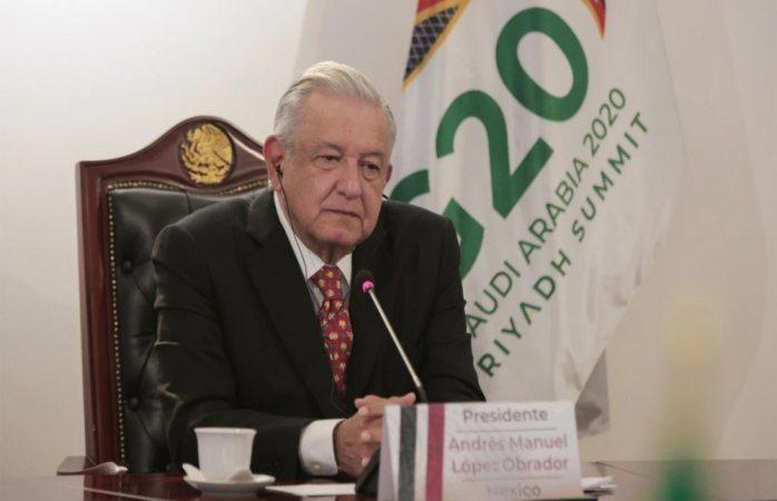 Participa amlo en cumbre g20 y aporta propuestas vs crisis