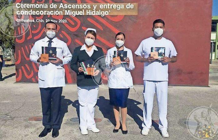 Condecoran a personal médico en ciudad juárez