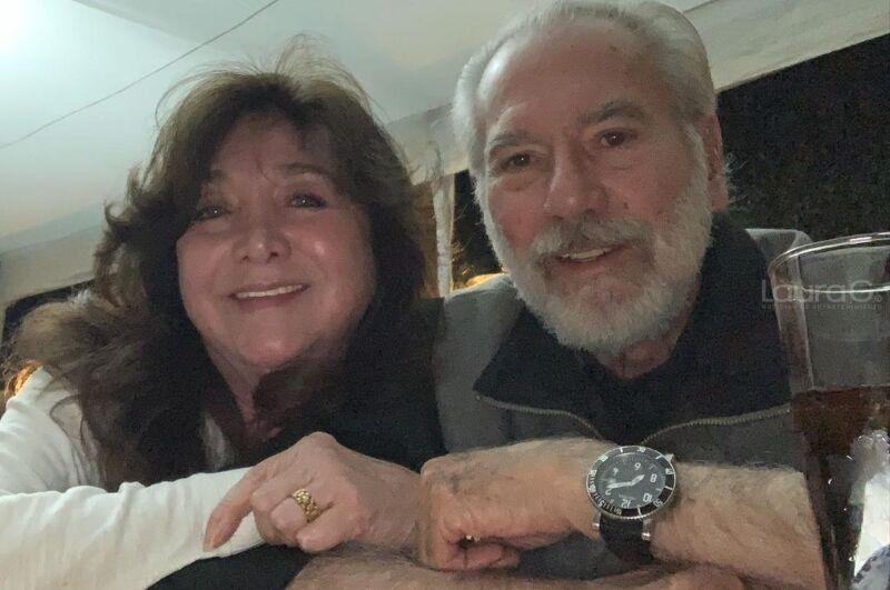 La actriz Maleni y su esposo Otto Sirgo La actriz Maleni y su esposo Otto Sirgo