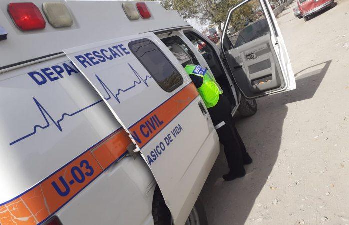 Atendieron 5 emergencias la tarde de ayer
