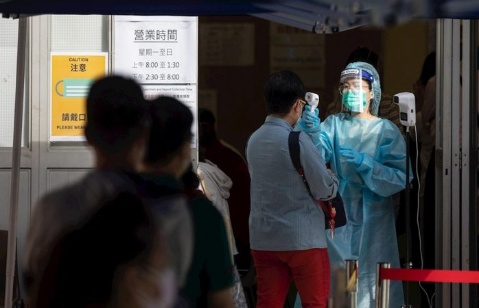 Dará hong kong 645 dólares a pacientes covid para incentivar pruebas