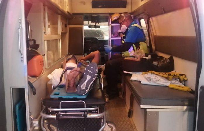 Auxilia rescate a 34 lesionados por armas y golpes en un mes