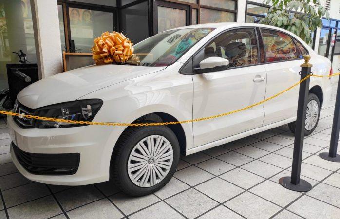 Lozoya anuncia sorteo de auto por pago del predial