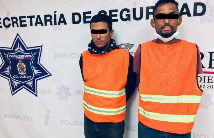 Caen dos polleros y 7 migrantes indocumentados