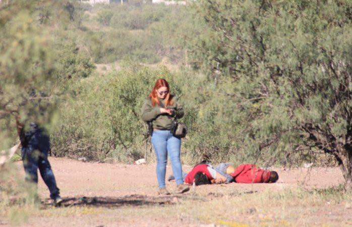 Localizan a dos ejecutados con tiro en la cabeza al sur