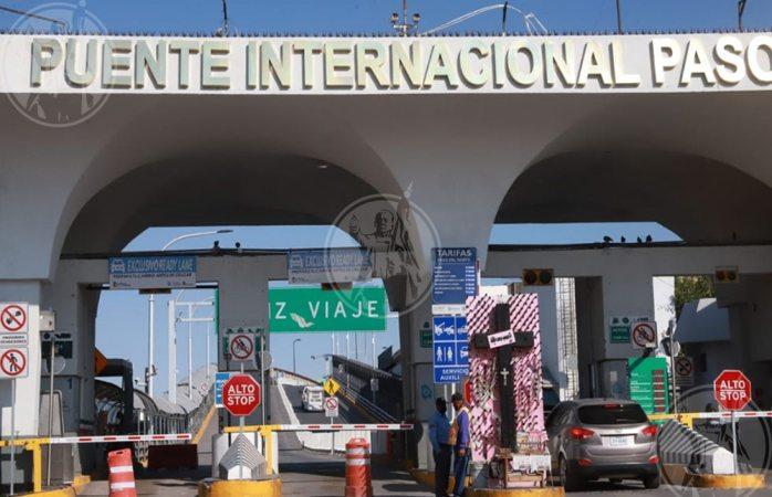 Puentes internacionales vacíos tras medidas preventivas