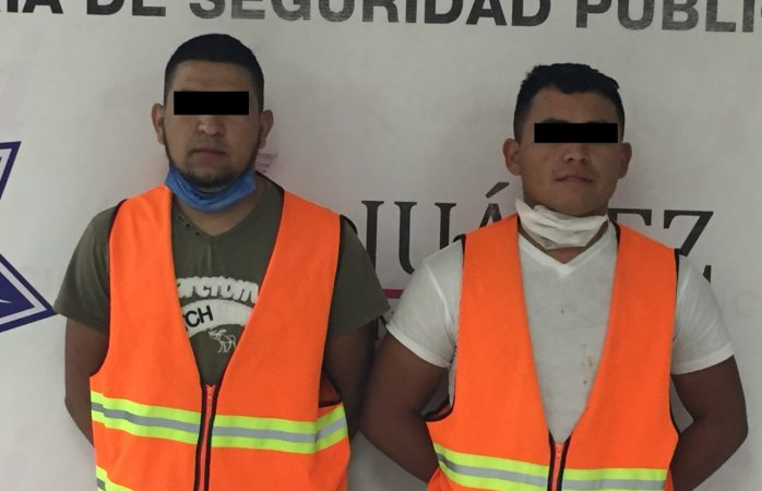 Detienen a tres por el delito de promoción de conductas ilícitas