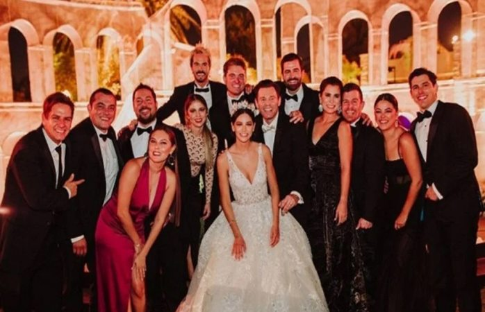 Hace boda actor mexicano y desata contagios de covid en los invitados