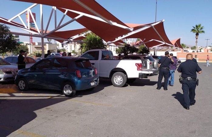 Balacera en el estacionamiento de home depot