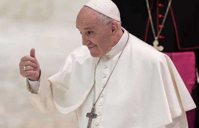 Apoya el papa francisco uniones civiles entre homosexuales