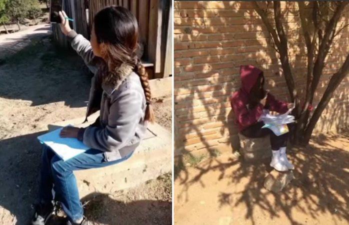 No hay piso parejo, no tenemos internet: alumnas rurales