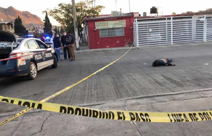 Hallan muerto a media calle en colonia san rafael