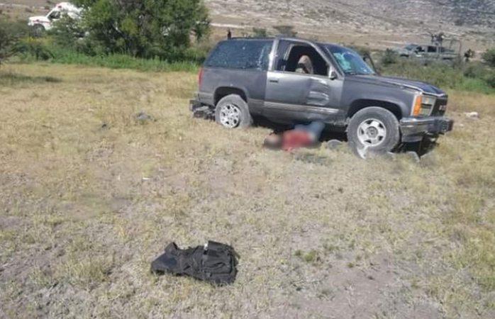Enfrentamiento entre ejército y civiles armados en san luis potosí