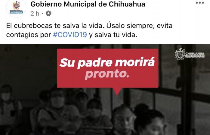Busca municipio en redes concientizar sobre uso de cubre bocas