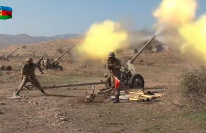 Llama pashinián a los armenios a las armas y a luchar hasta el final