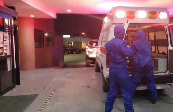 Eligen enfermos y lesionados ir a hospital por sus medios o no ir