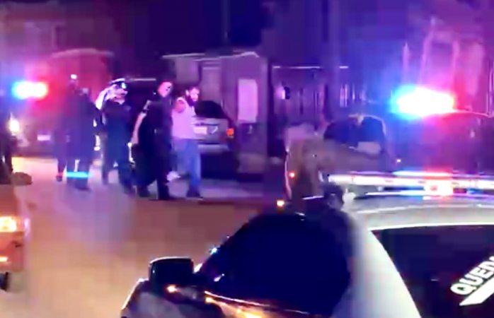 Deja un lesionado trifulca y balacera entre civiles y policía vial