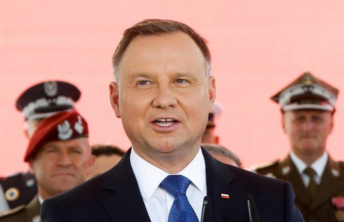 Da postitivo a covid 19 presidente de polonia