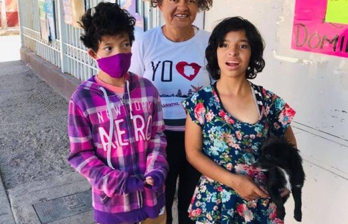 Piden ayuda para familia enferma; hace unos días les robaron
