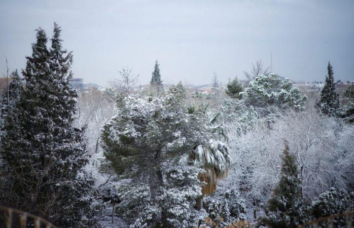 Emiten alerta amarilla por nieve e intenso frío