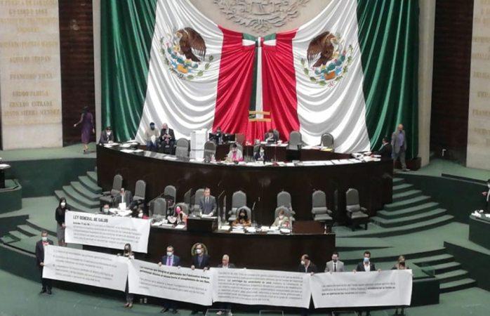 Avalan diputados disposición de 33 mil mdp del fondo de salud; pasa al Senado