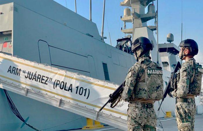 Aprueba senado que marina administre puertos y mares mexicanos
