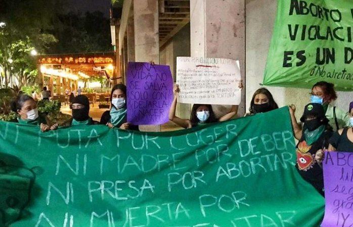 Exigen feministas acceso a un aborto libre, seguro y gratuito