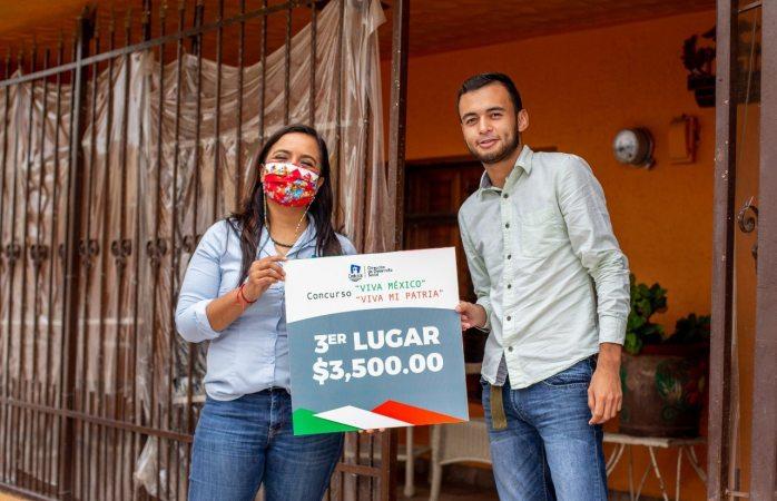 Premian a niños ganadores de concurso de independencia