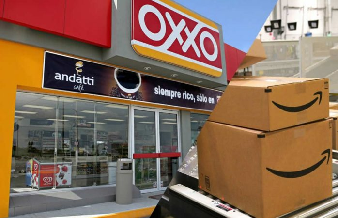 Anuncia amazon pago de compras en oxxo