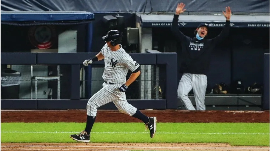 VIDEOS: Yankees aplastan a Azulejos con tres jonrones de Kyle Higashioka