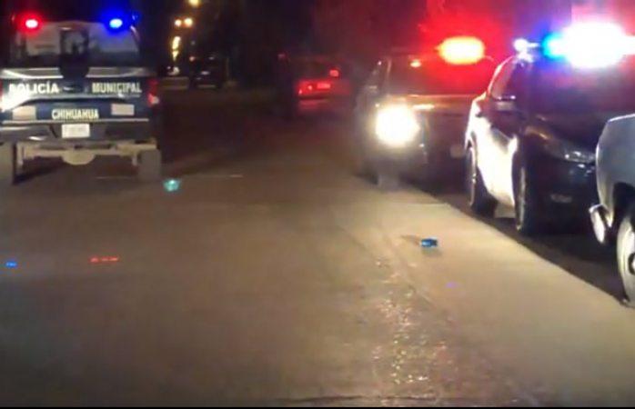 Se movilizan elementos policiacos tras disparos en carretera a cuauhtémoc