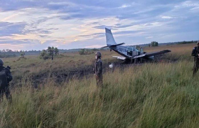 Incauta honduras avioneta con droga procedente de sudámerica