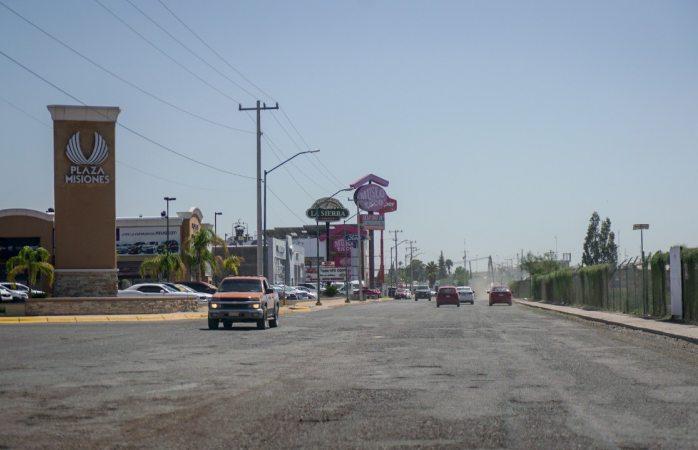 Anuncian pavimentación de la avenida ferrocarril