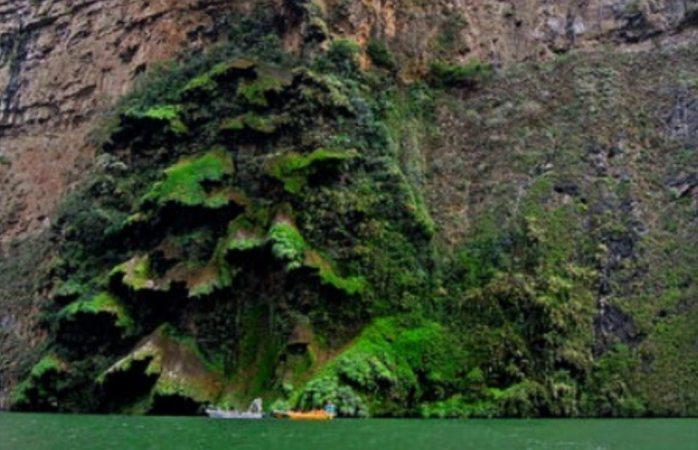 Recupera cascada su belleza natural en chiapas