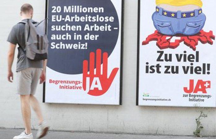 Rechazan suizos restringir la inmigración de la unión europea