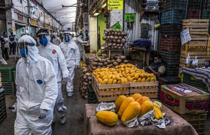 Figura mercado de iztapalapa como mayor foco de infección de covid en méxico