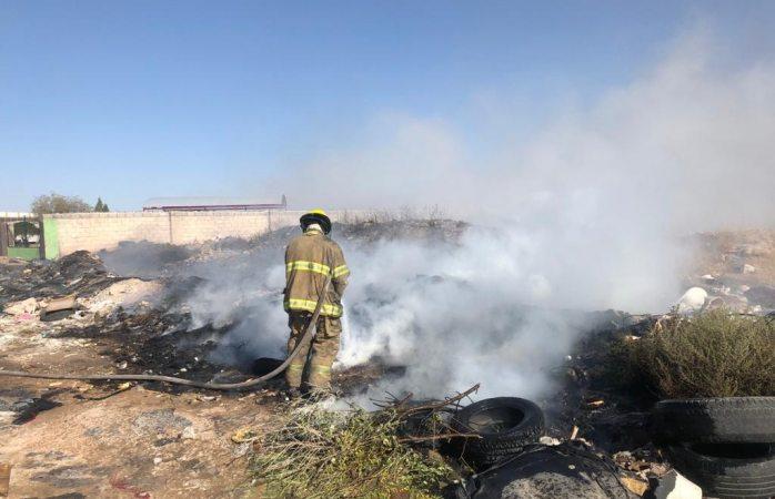 Bomberos controlaron 5 incendios y derrame de combustible